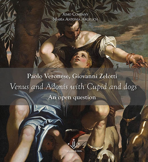 Paolo Caliari and Giovanni Zelotti (attributted). Venus and Adonis with Cupid and dogs. An open question. An extraordinary version of an unknown original