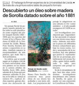 Sorolla Diari de Mallorca